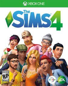 The Sims 4 - Xbox One box art