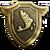 Badge Or Pêche