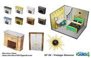 Les Sims 4 Accessoires Vintage Concept Christina Chan 1