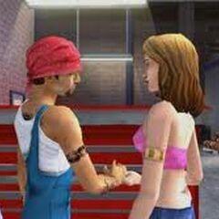 Sims hablando