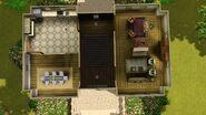 Casa da Orquídea (Champs Les Sims), primeiro andar