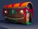 Concept Art Les Sims 3 Super-pouvoirs 04