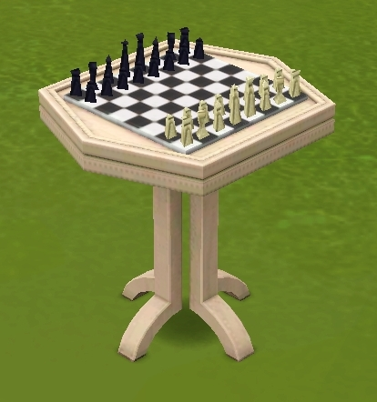 Chess table | The Sims Wiki | FANDOM powered by Wikia