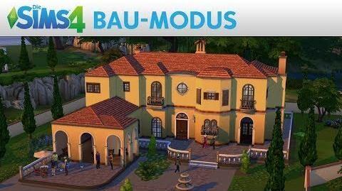 Die Sims 4 BAU-MODUS Gameplay-Trailer