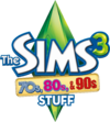 Logo The Sims 3 70s, 80s, & 90s