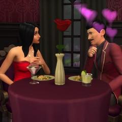 Homero y Elvira tienen una cita en el Día del Amor en un video oficial de <i><a href=