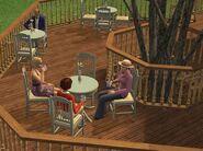 Catherine, Linda et Suzanne jeune