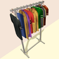 ClothesHorse Display Rack