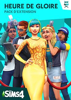 Packshot Les Sims 4 Heure de gloire (V2)