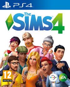 The Sims 4 - PlayStation 4 box art