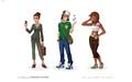 The Sims Social Concept Albert Truong 2