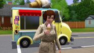 Sim at the ice cream