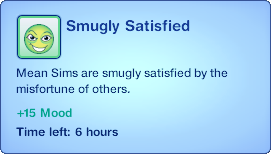 Smugly Satisfied