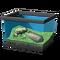 Песчаная лягушка с волнообразными полосками
