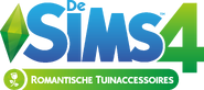 De Sims 4 Romantische Tuinaccessoires Logo