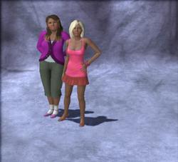 Rhi-Rhi and Kiki household pic