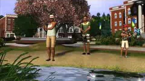 The Sims 3 - Den første filmsnutten