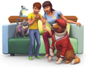 The Sims 4 My First Pet Stuff Render 02