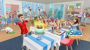 The Sims FreePlay Kids Party Update Trailer