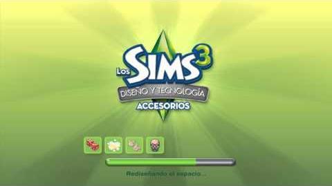 Pantalla de carga de Los Sims 3 Diseño y Tecnología.mp4