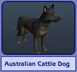 Australian Cattle Dog (Sims 2)