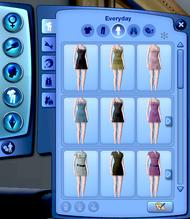 CAS - Vêtements (Les Sims 3)