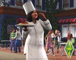 Les Sims 3 Fond d'écran Chef 1280x1024