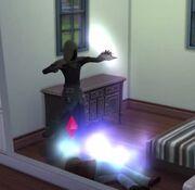Grim Reaper reaping soul in TS4