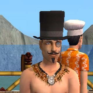 El charlatán desagradable en Isla Twikkii
