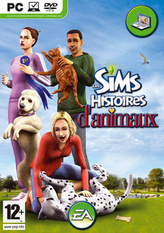 Jaquette Les Sims Histoires d'animaux