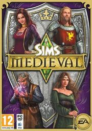 Jaquette Les Sims Medieval Edition Collector