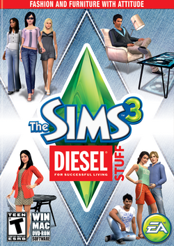 The Sims 3 Diesel Stuff Cover