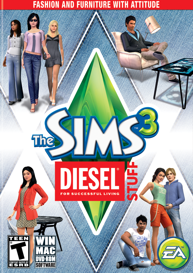 The Sims 3 Diesel Stuff Cover png. Image   The Sims 3 Diesel Stuff Cover png   The Sims Wiki   FANDOM