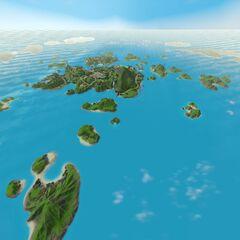 Islas desbloqueadas