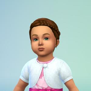 Lara lincoln-croft toddler