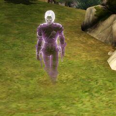 El fantasma de un Sim que murió de hambre en <i><a href=