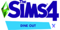 The Sims 4 Dine Out Logo