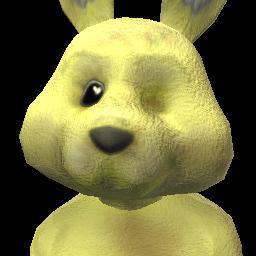 Yellow Social Bunny