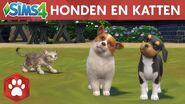De Sims 4 Honden en Katten officiële lanceringstrailer