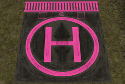 Get to The Choppa Helipad - Pink