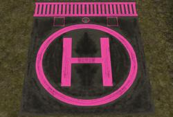 Get to The Choppa Helipad - Pink