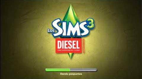 Pantalla de carga de Los Sims 3 Diesel