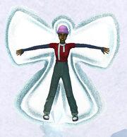 Snow angel Sims2