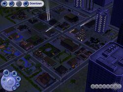 Centre-ville (Les Sims 2)