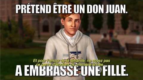 Les Sims 3 University - Trailer officiel 2