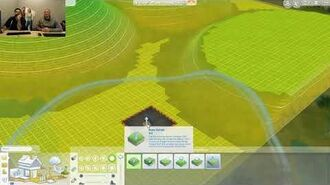 Livestream officiel - Les Sims 4 - Manipulation du terrain