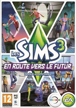 Packshot Les Sims 3 En route vers le futur