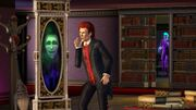 TS3 supernatural witch mirror