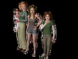 Unidad doméstica Madres solteras