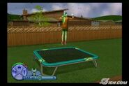 The Sims 2 (console) Trampoline image